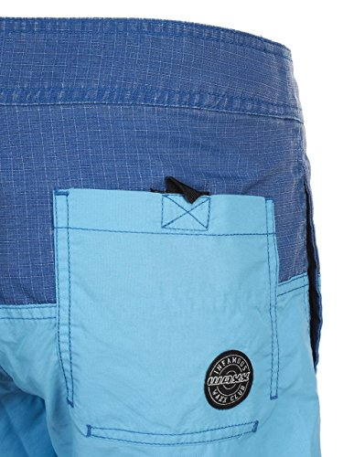 WAXX Swimwear Herren Badeshort Blau Blau