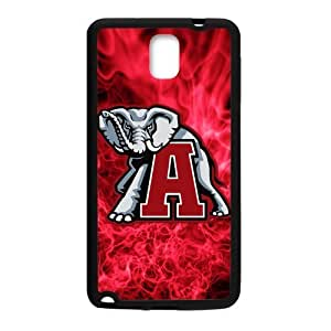 Generic Custom Extraordinary Best Design NCAA Alabama Crimson Tide Team Logo Plastic and TPU Case Cover for SamsungGalaxy Note3