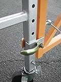 CBM scaffold Hard Rubber Heavy-Duty Locking Caster