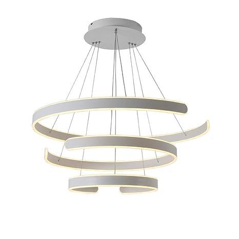 Amazon.com: Lámpara de techo moderna, tamaño grande, diseño ...