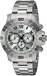 Invicta Men's 19695 Specialty Silver-Tone Stainless Steel Watch