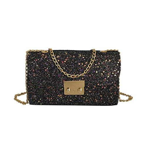 Clearance Sales Womens Girls Gift Sequins Crossbody Bags AfterSo Fashion Messenger Bag Wristlets Bag Handbag Cellphone Bag Purse Wallet (20cmL x 5cmW x 13cmH/7.87