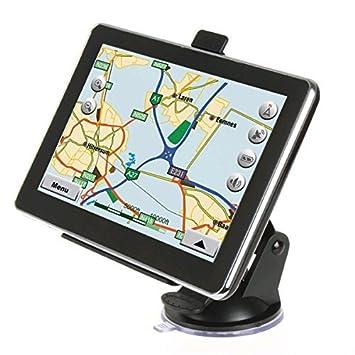 Maxfind 12,7 cm coche GPS navegación 8 G 276 M HD pantalla táctil con mapas y tráfico de por vida: Amazon.es: Electrónica