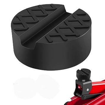 Nut zum Schutz von Autos und SUVs vor Kratzern bis 3,5 Tonnen Schwarz Wagenheber-Gummiauflage Universelle Gummiauflage f/ür Wagenheber und Hebeb/ühnen Rutschfest Gummiauflage Wagenheber