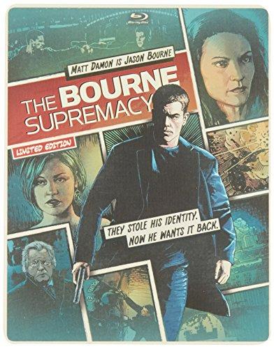 The Bourne Supremacy (Steelbook) (Blu-ray + DVD + DIGITAL with UltraViolet)