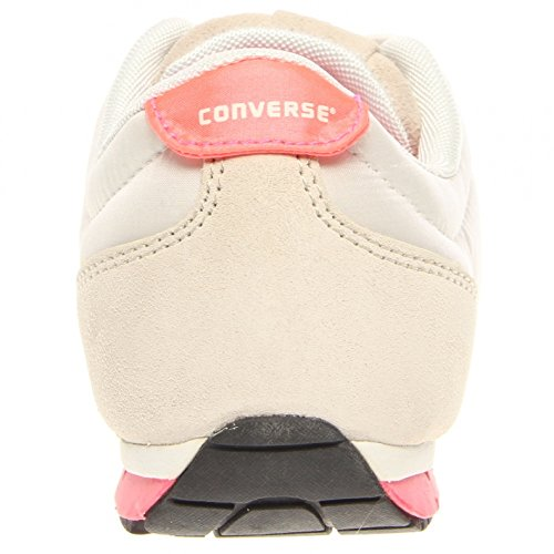 Ox Revival Pink Converse White Fabric High Running Women's Ankle Shoe Fq6RT