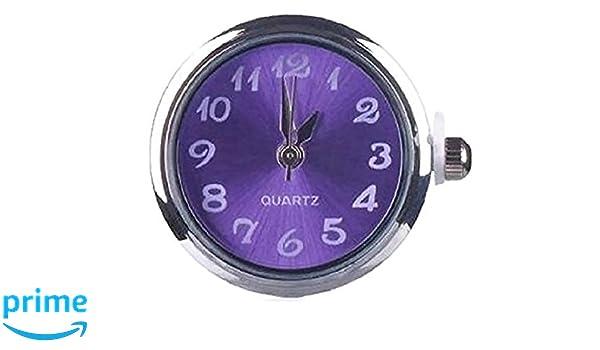 Hot Women Jewelry Necklace Pendant Fit 18mm Noosa Snap Button Alarm Clock