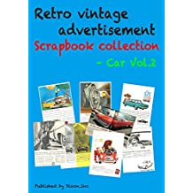 Retro vintage advertisement Scrapbook collection - Car Vol.2