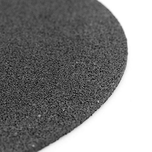 Fictor 6個超細い黒砥石樹脂研削カッター(400×3×32ミリメートル)
