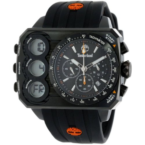 Timberland Men's TBL_13673JSB_02S Ht3 Digital Chronograph 3 Hands Date Watch