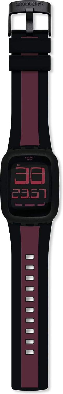 Swatch Reloj Digital para Unisex Adultos de Cuarzo con Correa en Silicona SURB102D
