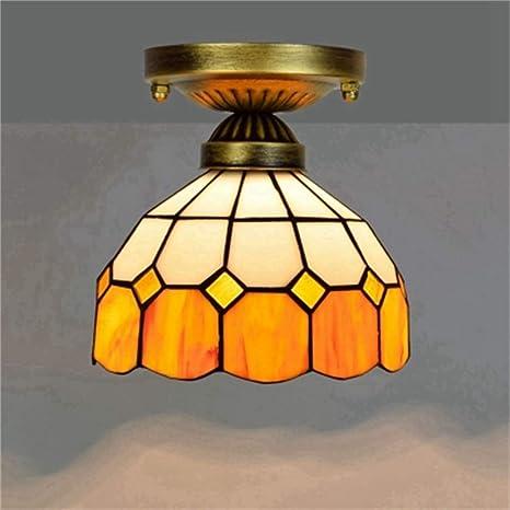 SMC de Americano lámpara cristal Pastoral color techo zGVUpqSM