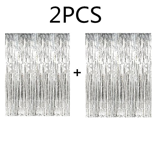 Top 10 tinsel fringe curtain white