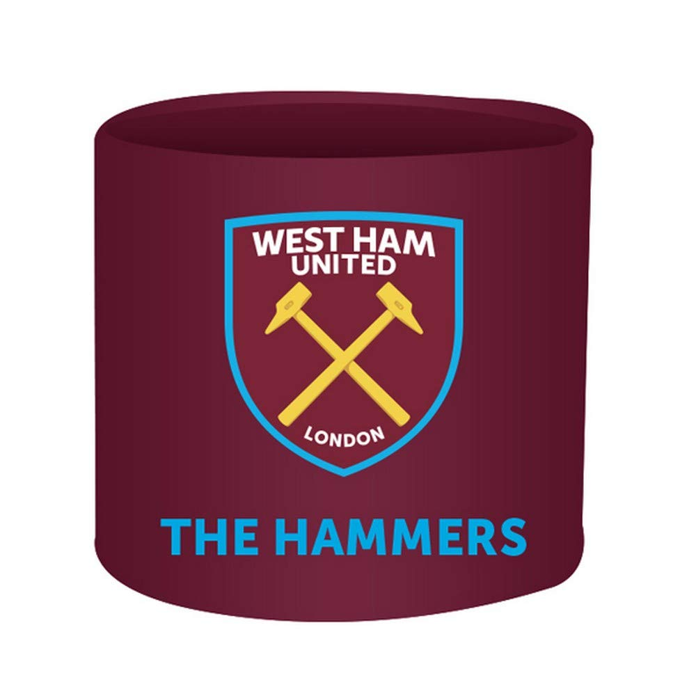 West Ham United FC Official Fabric Lamp Shade (One Size) (Claret/Blue)