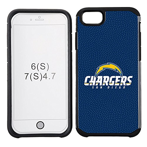 (NFL San Diego Chargers Football Pebble Grain Feel iPhone 7 Case)