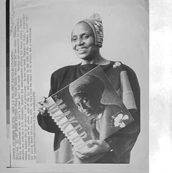 Miriam Makeba 1988 6x8 original WIRE PHOTO J6754
