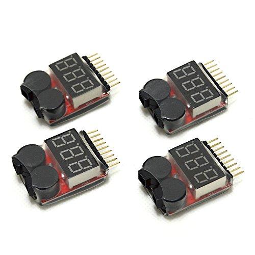 1-8S LED Lipo Voltage Indicator Checker - 8