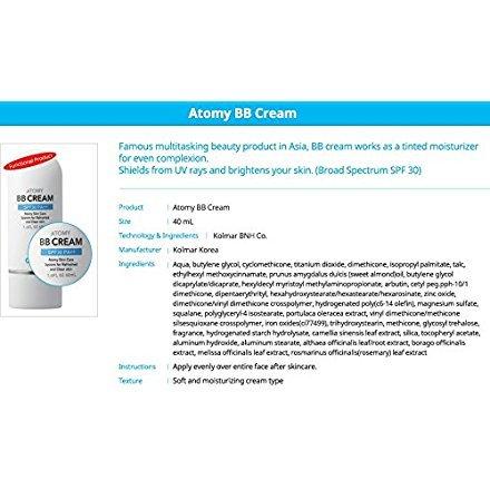 ATOMY BB Cream - 40ml