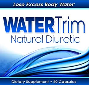 Diuretic Water Pill By Water Trim - 60 Capsules