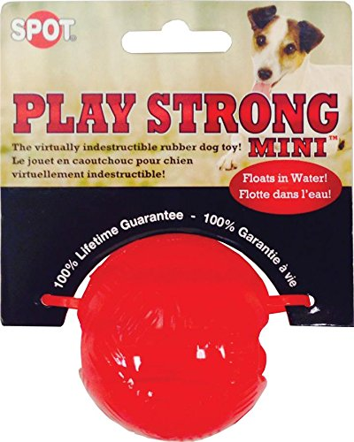 Spot Rubber Balls (Ethical Pets 54098 Play Strong Rubber Ball, 2.25