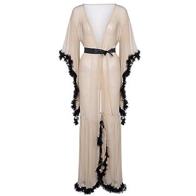 VJGOAL Mujeres Casual camisón Largo lencería camisón Ropa de ...