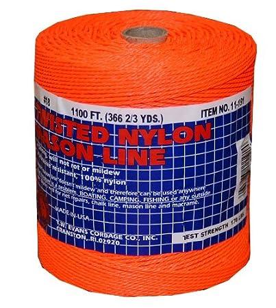 Mason LINE Braid ORNG 18X1088-3 Pack