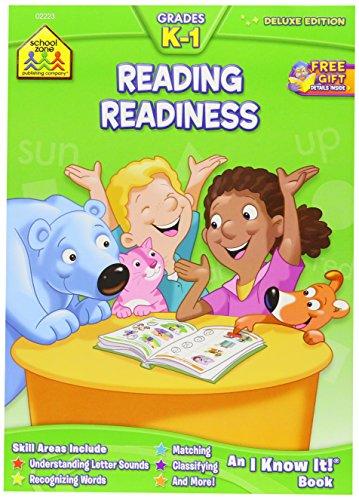 Workbooks-Reading Readiness Grades K-1 - K1 Book