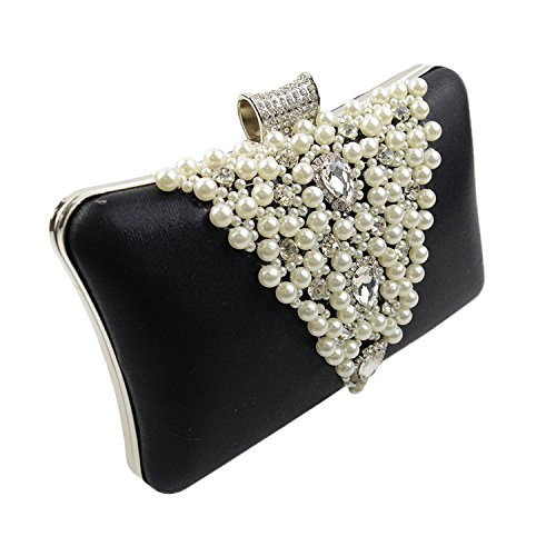 de Pearl Diamant Main Sac Main dîner de Main Pearl Sac Upgrades Mode FYios V purple mariée Banquet à à Z5wzaqp