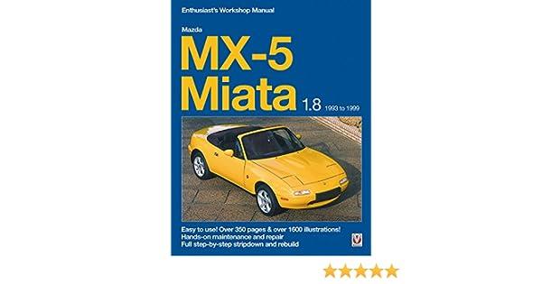 mazda mx5 mx 5 1993 repair service manual