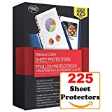 Premium Clear Sheet Protectors - Fits 8.5x11 in. Sheets - 225 Sheet Protectors in Package
