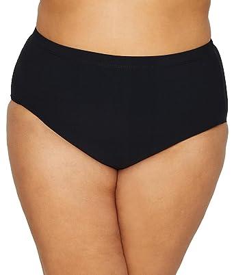 f6dfd5225e Amazon.com  Christina Women s Plus-Size Highwaist Swim Bottom