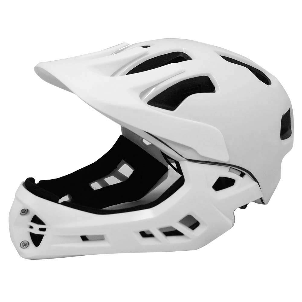 TETE(テテ)キッズ軽量フルフェイスヘルメット Fortia (フォルティア)ピュアホワイトS
