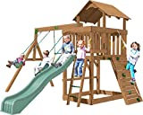 Creative Playthings (Playtime Series) Eastport Swing Set Made in the USA