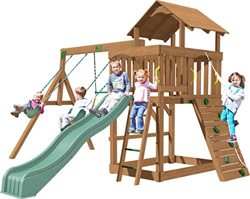 Creative Playthings (Playtime Series) Eastport Swing Set Made in the USA (Series Playtime Set Swing)