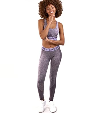 41c253c641690 Gymshark Flex Leggings, Women, Purple/Lilac, S: Amazon.co.uk: Clothing
