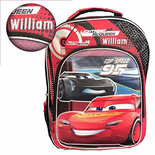 Personalized Disney Pixar Cars Backpack - 16 inch