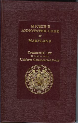 Michie's Annotated Code of Maryland