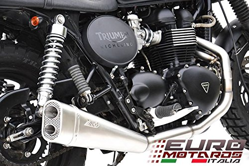 Triumph Scrambler Exhaust - 5