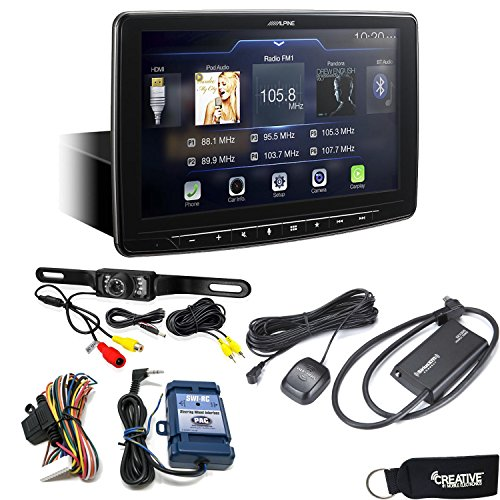 Alpine iLX-F309 HALO9 Receiver w/9-inch Touch Screen, Single-DIN Mounting, Includes SWI-RC, SiriusXM Tuner & Backup Cam