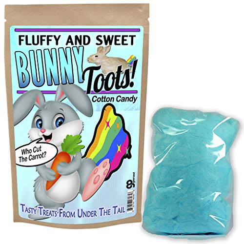 Bunny Toots Cotton Candy - Fun Cotton Candy - Funny Easter Basket - Stocking Stuffers - Bunny Toots - Easter Cotton Candy for Kids