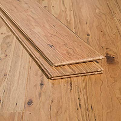 Solid Strand Tongue and Groove Color: Malted Ale Eucalyptus Flooring Sample Ambient Bamboo