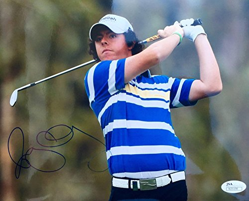 Rory McIlroy Autographed Picture - 2011 Pebble Beach 8x10 N35198 - JSA Certified - Autographed Golf (Golf Certified Autograph 8x10 Photo)