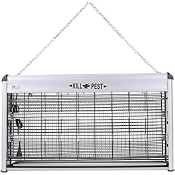 Electronic Bug Zapper 40W UV Indoor Insect Mosquito Pest Fly insect Killer for Residential, Commercial and Industrial- Covers up to 6,000 sq ft