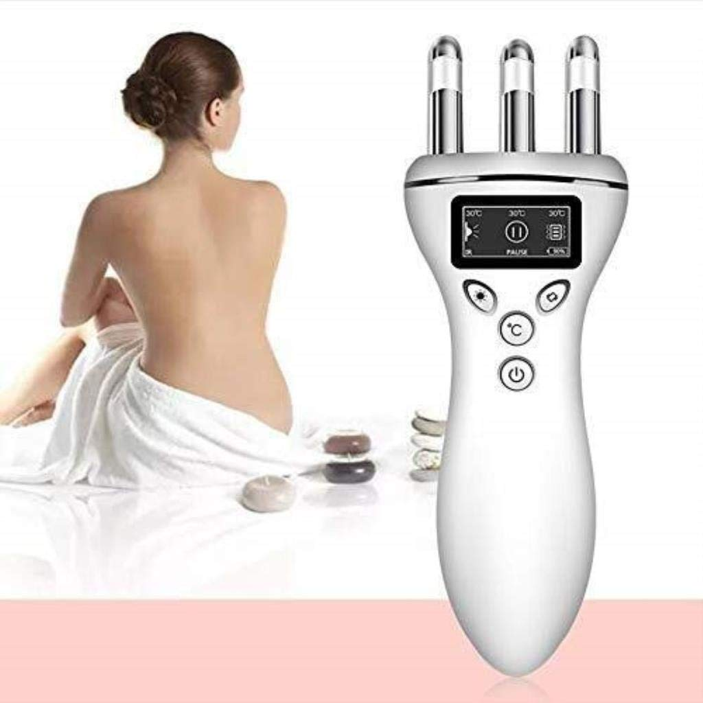 Electric Massage Beauty Instrument, Multi-function Magnetic Wave Therapy Massager, Facial Body Massage Instrument Beauty Instrument by GJ-QD