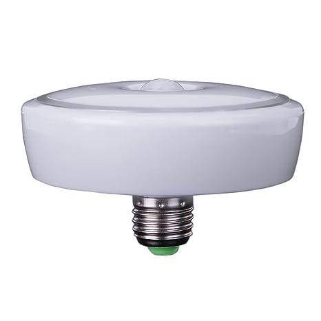 demiawaking PIR Sensor de movimiento luz infrarroja LEd lámpara bombilla incandescente plafón AC85 – 265 V