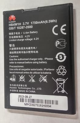OEM Battery Huawei Ascend Y210 G510 Prism Ii U8686 Inspira H867g Hb4w1h 1750mah - Non-Retail Packaging - Black