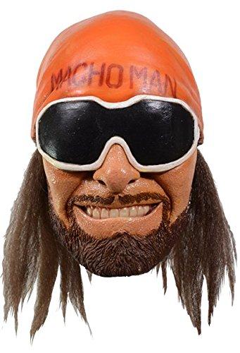 Randy Savage Halloween Costumes - WWE - Macho Man Randy Savage Mask