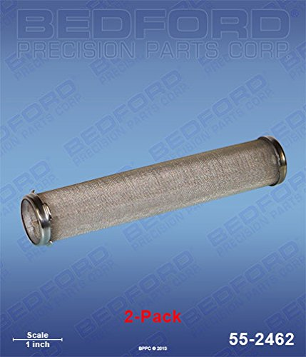 - GRACO 224-459 Bedford 55-2462 Strainers (2), Manifold Filter, 60 Mesh, Long