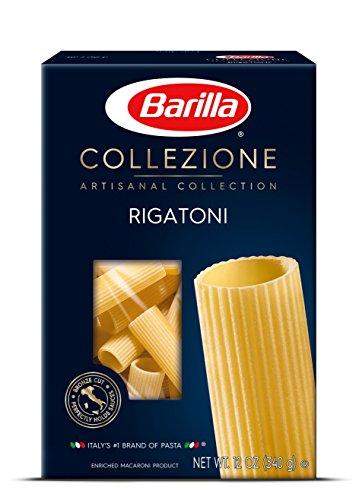 Barilla Rigatoni Pasta, Collezione Artisanal Pasta, 12 Ounce