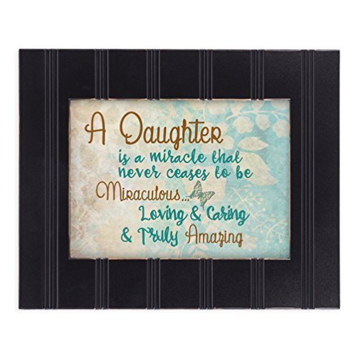 Daughter Truly Amazing 8x10 Black Framed Art Wall Plaque Sign